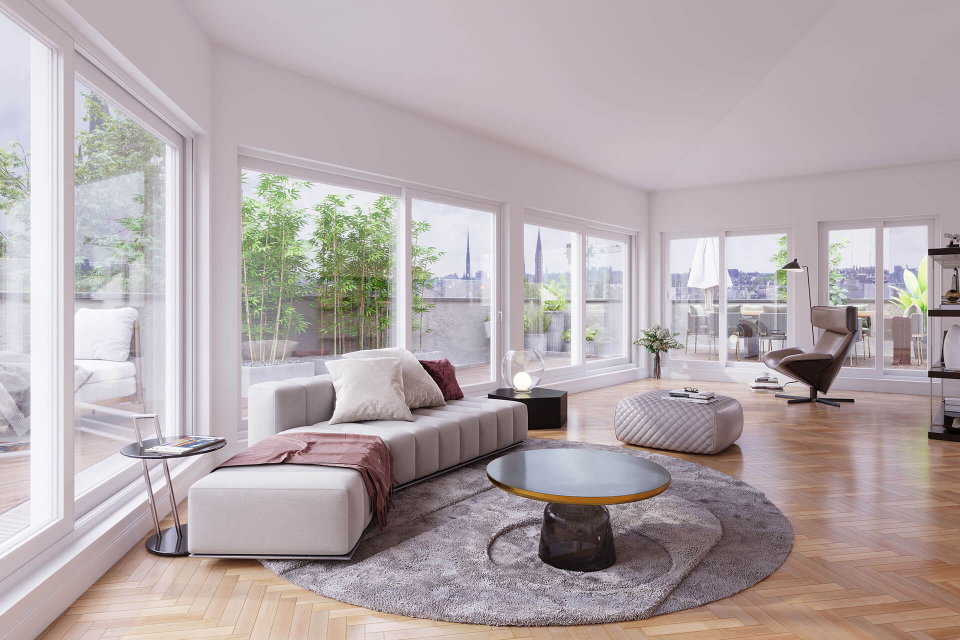 Attic apartment5 rooms