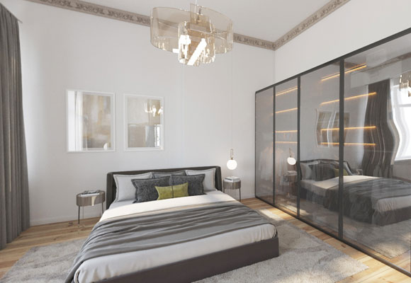 Refurbished apartment2 rooms