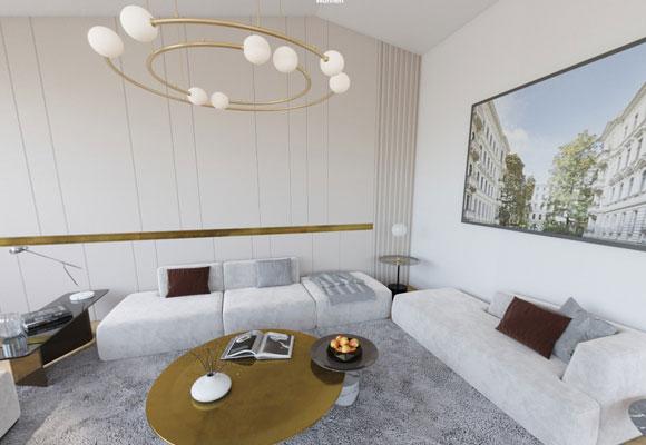 Attic apartment6 rooms